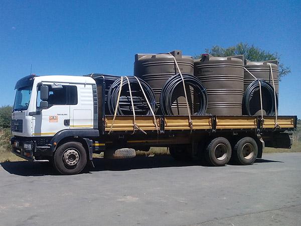Transport Namibia KG Sand & Stone