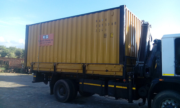 KG Sand & Stone Container Hire