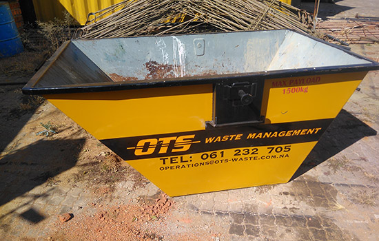 OTS waste management skip 1,5m3