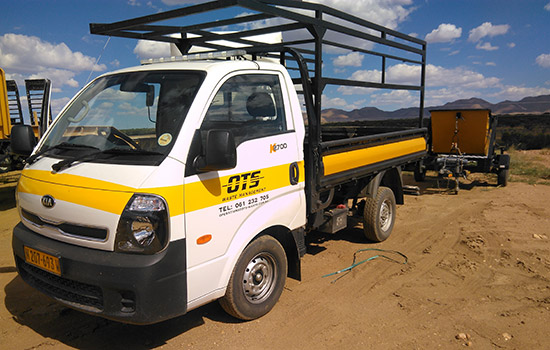 OTS Waste Management Transporter